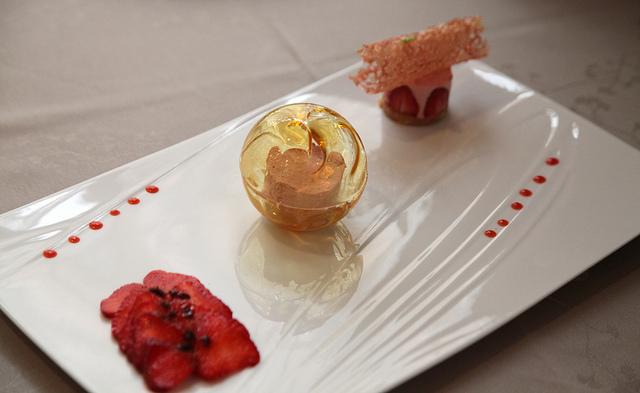 Restaurants gastronomiques en bi vre valloire terres de for Cuisine gastronomique