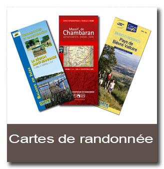 cartes-de-randonnée-bièvre-valloire-rhone-alpes