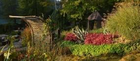 Jardin des Fontaines pétrifiantes la sône