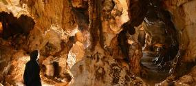 Grotte de Thaïs, Drôme, France