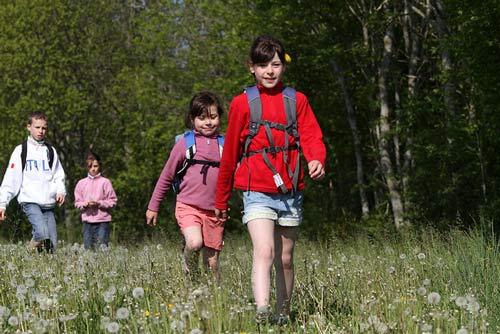 activité-nature-en-famille enfant et parent
