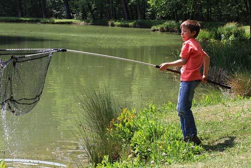 pêche-enfant-rhone-alpes-isere étang