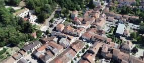 saint étienne de saint geoirs ville vue aérienne (2)
