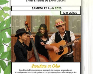 Soirée musicale : Sunshine in Ohio